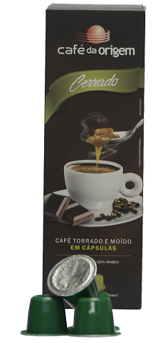 Cápsulas - Café da Origem Cerrado