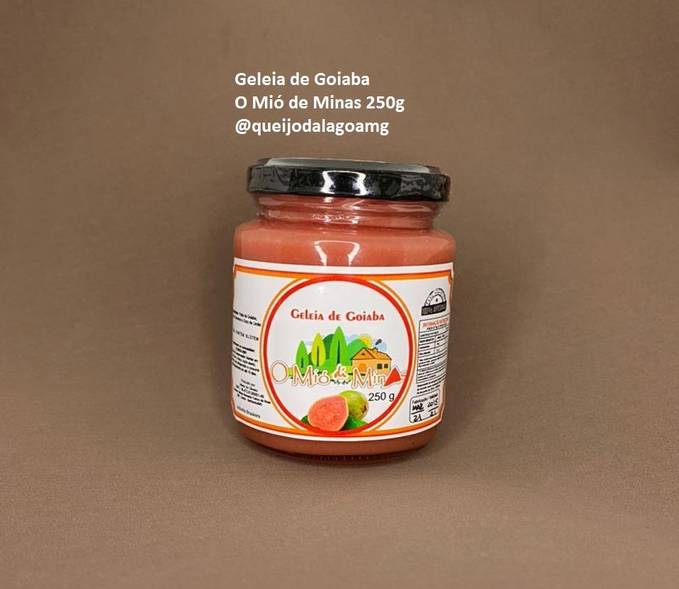 Geleia de Goiaba - O Mió de Minas 250g