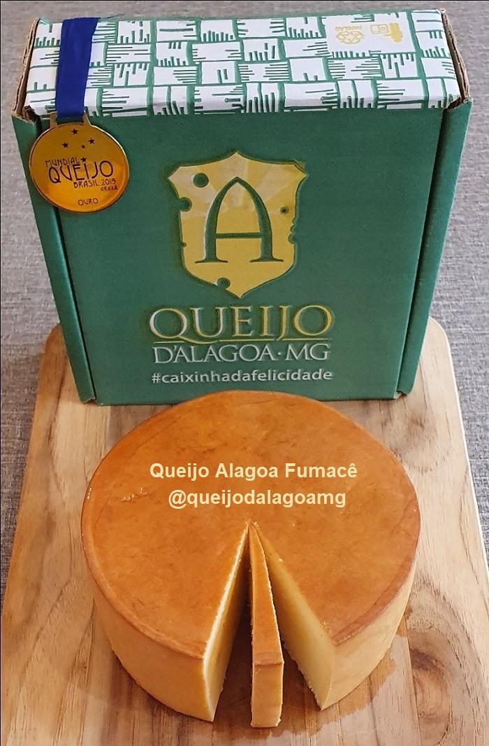 Queijo Alagoa Fumacê (Ouro no Mundial do Queijo em Araxá-MG 2019)