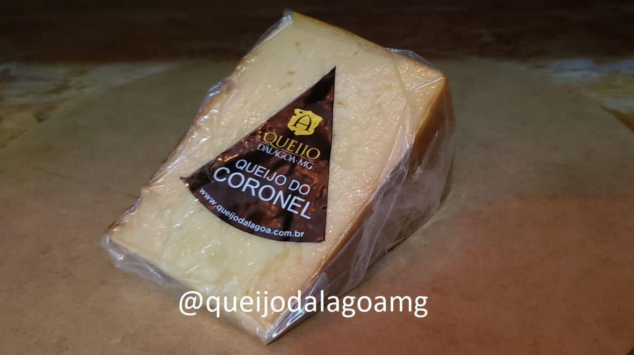 Queijo do Coronel - Cunha de 500gr #queijodocoronel