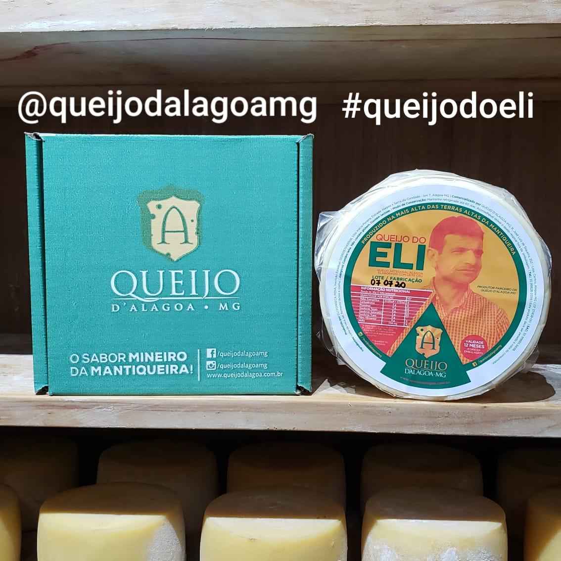 Queijo do Eli - Queijo D'Alagoa-MG (Apenas 8 Peças por dia)