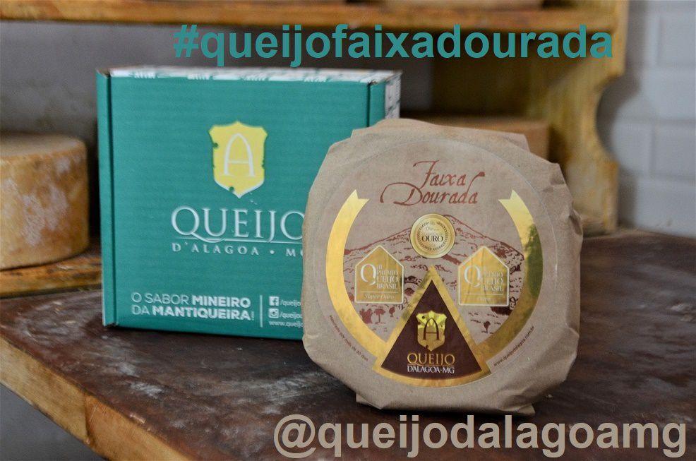 Queijo FAIXA DOURADA - Prêmio SUPER OURO