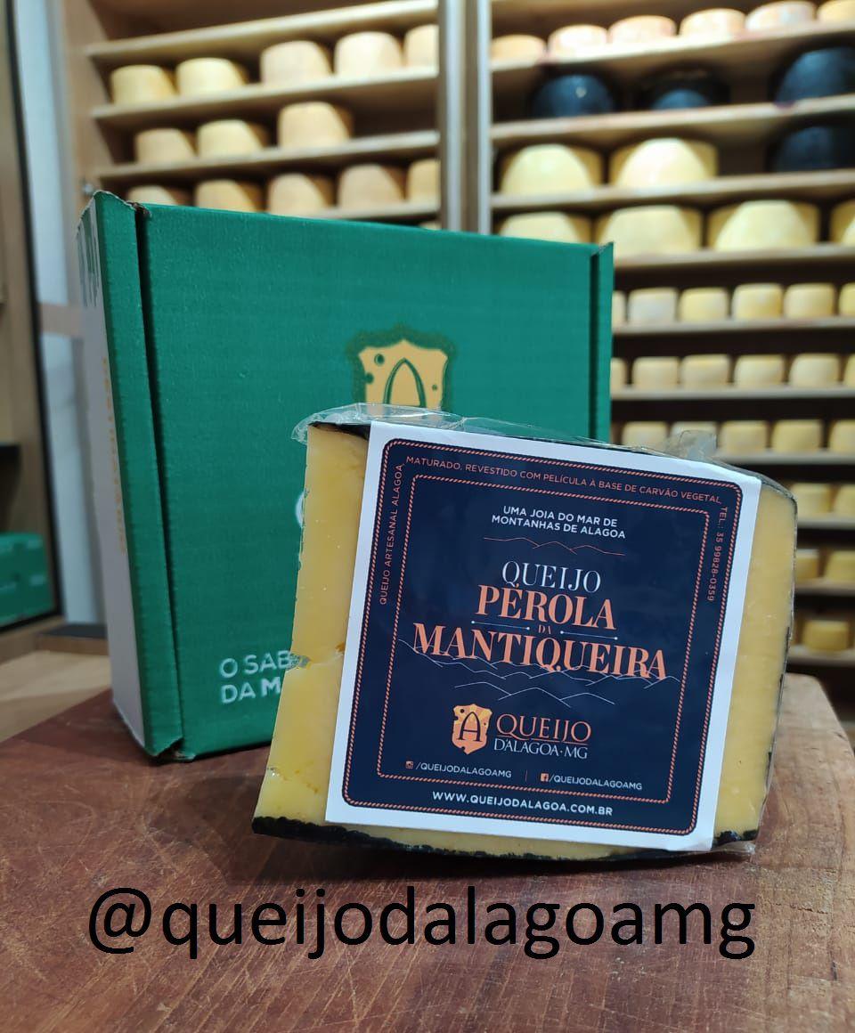 Queijo Pérola da Mantiqueira - Cunha de 500gr a 600gr  #queijopéroladamantiqueira