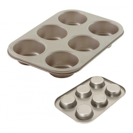 FORMA PARA 6 CUPCAKES LUMIERE ASS1307 4852 - MIMO STYLE