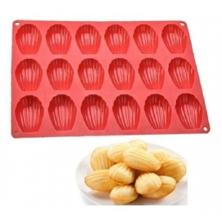 FORMA SILICONE CONCHAS MADELEINE - UNYHOME