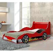 Cama Carro Tuning Vermelha - Gelius Móveis