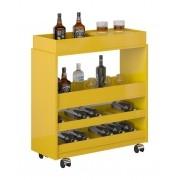 Barzinho para sala Surf Plus Amarelo - Imcal