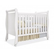 Berço Baby Branco Fosco - Imaza Móveis