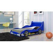 Cama Carro Tuning Azul - Gelius Móveis