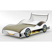 Cama Carro Tuning Branco - Gelius Móveis