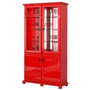 Cristaleira Monet Vermelho - Imcal