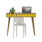 Escrivaninha Multifuncional Demolição Amarelo - Patrimar Móveis