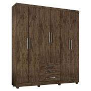 Guarda Roupa Luanda 6 Portas Gold Wood - Germai