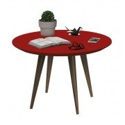 Mesa de Centro Grace Vermelho - Edn Móveis