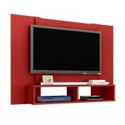 Painel para Tv Navi Vermelho - Móveis Bechara
