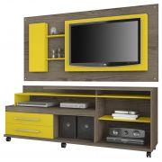 Rack JB 5544 com Painel JB 5011 Teka com Amarelo - JB Bechara