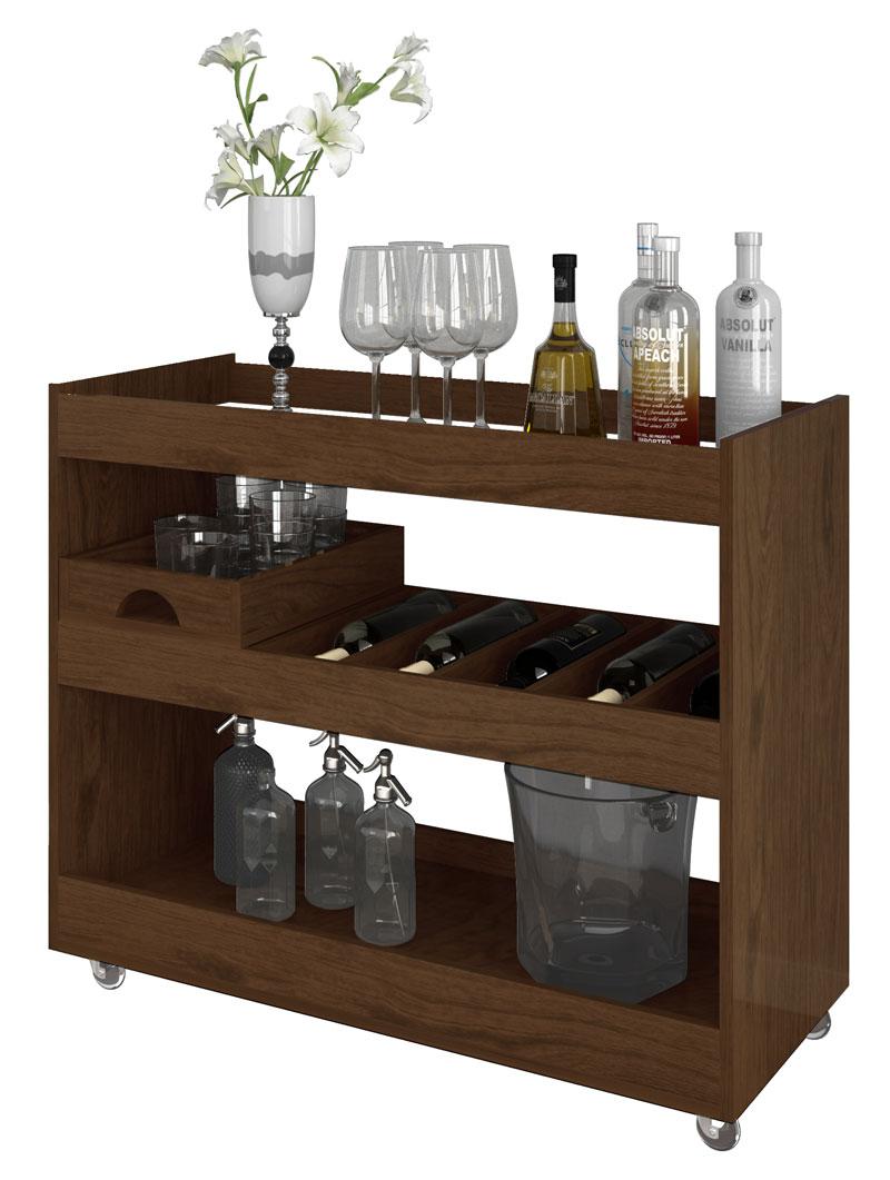 Adesivo Mesa De Jantar ~ Aparador Bar Adega Jb 4030 Imbuia Jb Bechara R$ 269,99 em Mercado Livre