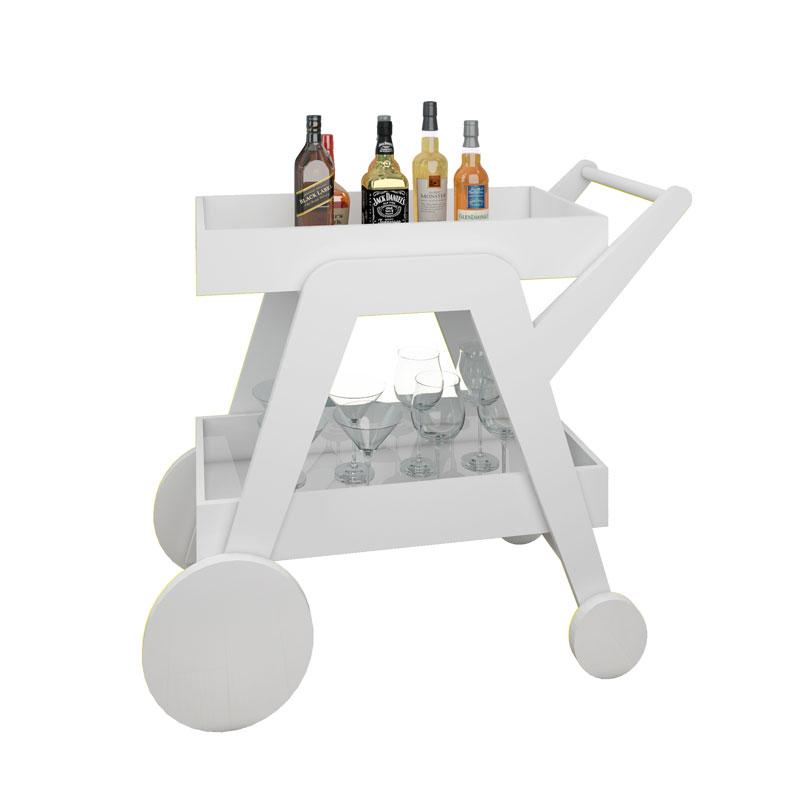 Armario Embutido Cozinha ~ Aparador Bar JB 4004 Branco JB Bechara
