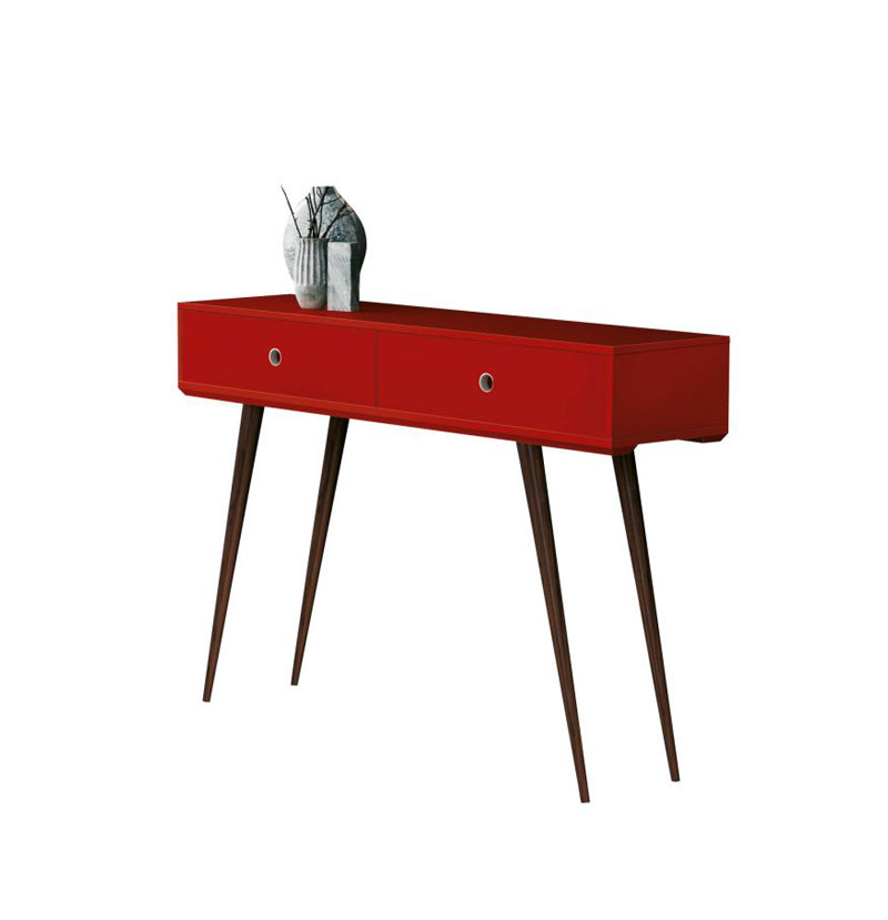 Artesanato Argila Passo A Passo ~ Aparador Córdoba Vermelho Edn Móveis R$ 358,00 em