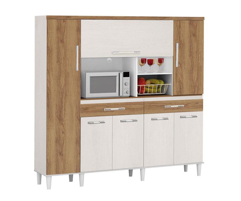 Adesivo De Arvore Para Fotos ~ Armário de Cozinha Completo 1,70m Maderato com Canelato