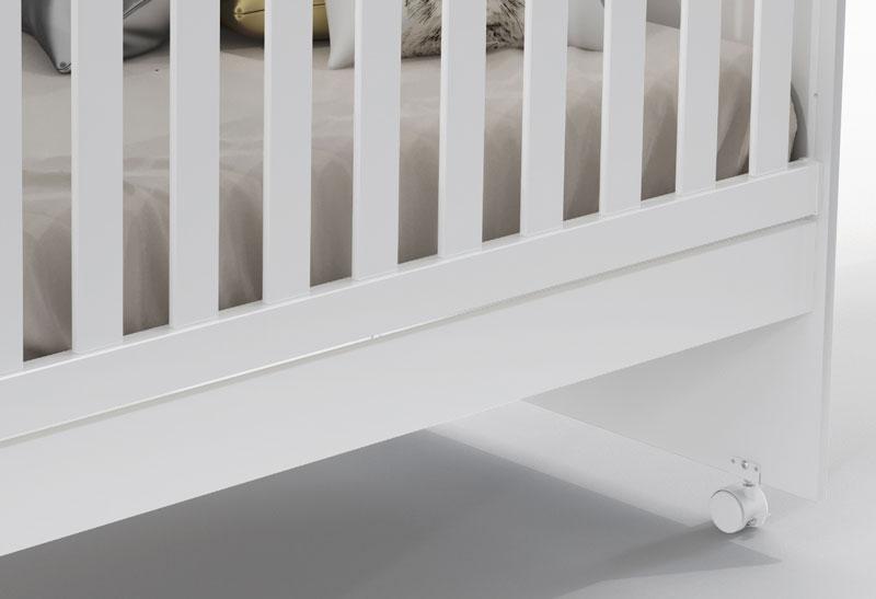 Berço Ninare Branco Fosco - Matic Móveis