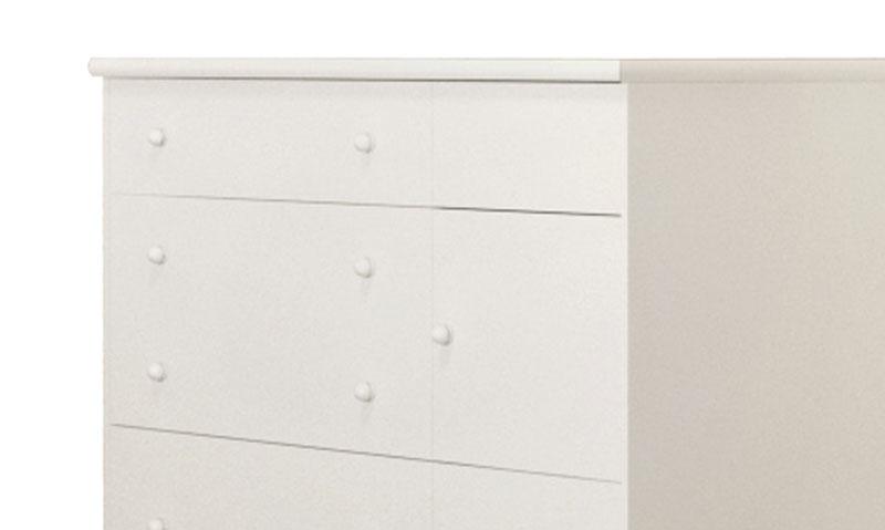 Cômoda Diogo Branco Brilho - Imaza Móveis