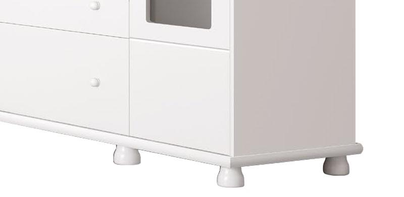 Cômoda Moana Branco Brilho - Imaza Móveis