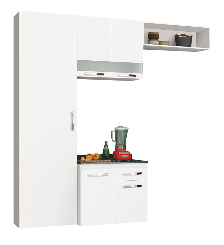 Cozinha Ubatuba Branco - Edn Móveis
