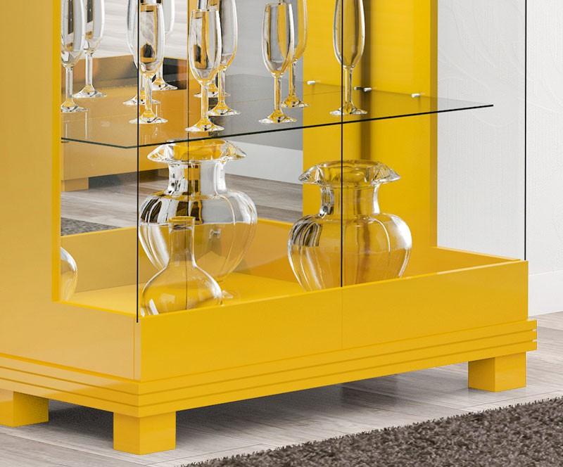 Cristaleira Cristal Amarelo - Imcal