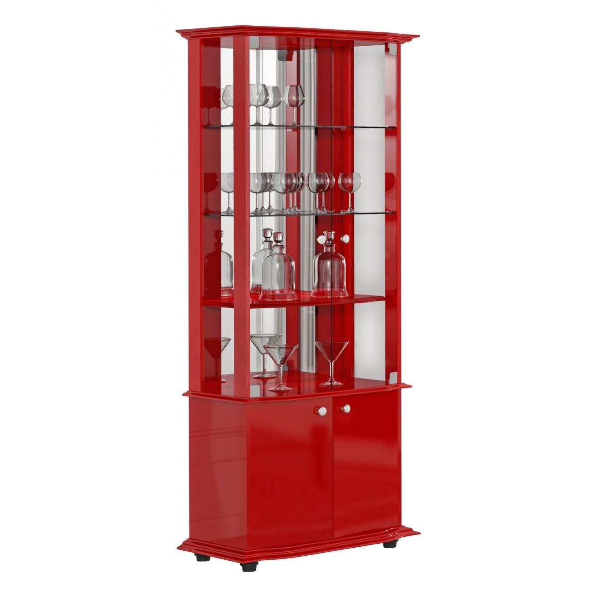 Cristaleira Monalisa Vermelha Imcal
