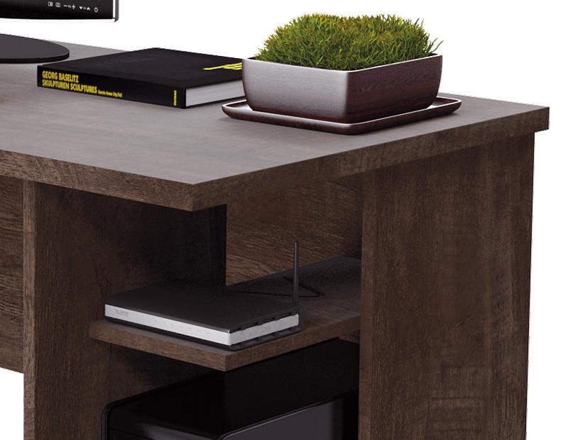 Escrivaninha França Noce - RV Móveis