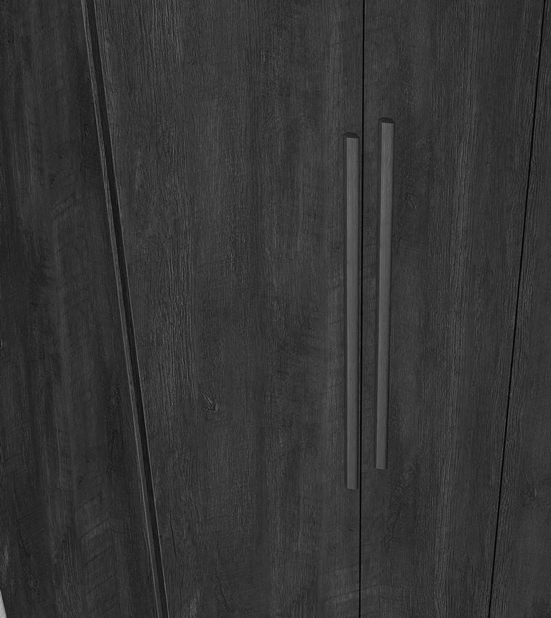 Guarda Roupa 6 Portas Agata com espelho Imbuia - FabriMoveis