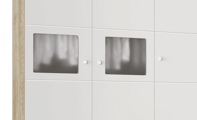Guarda Roupa Moana 3 Portas Branco com Niagara - Imaza Moveis