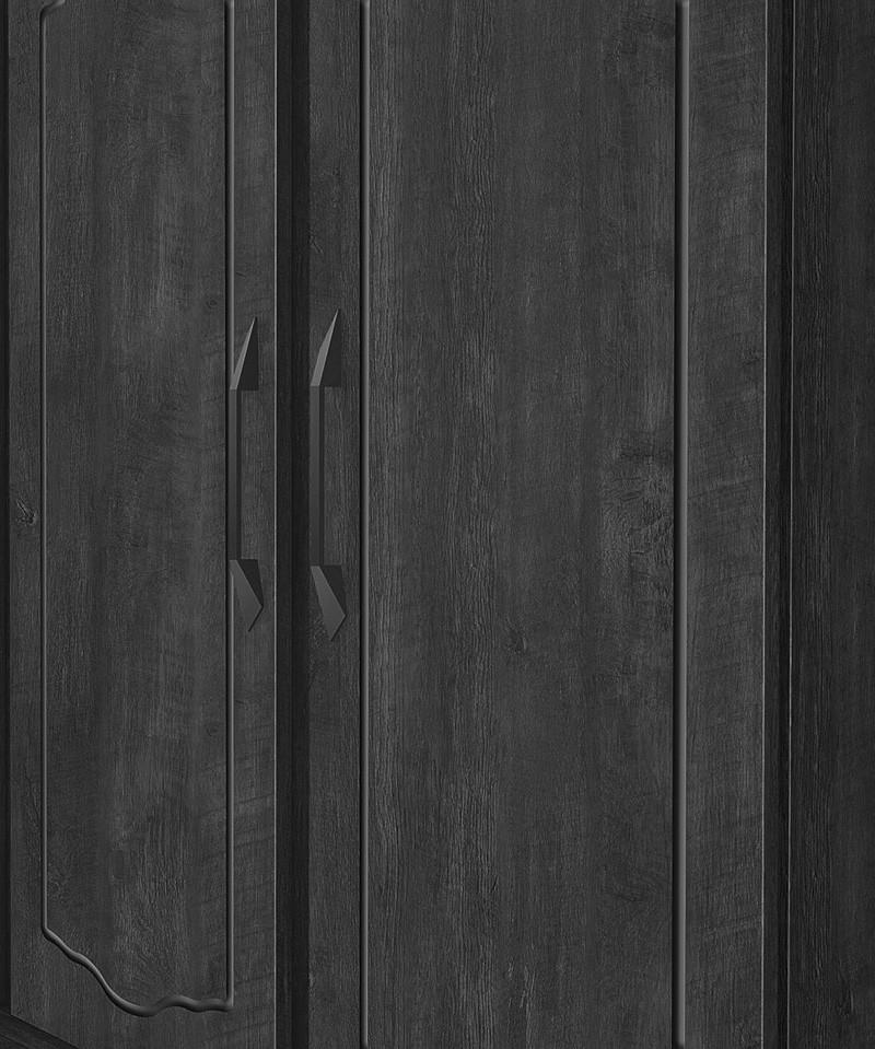 Guarda Roupa Triplex 3 Portas Cristal Noce - FabriMoveis