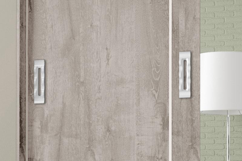 Guarda Roupa Valença com Espelho Vanilla Rústico - Móveis Bechara