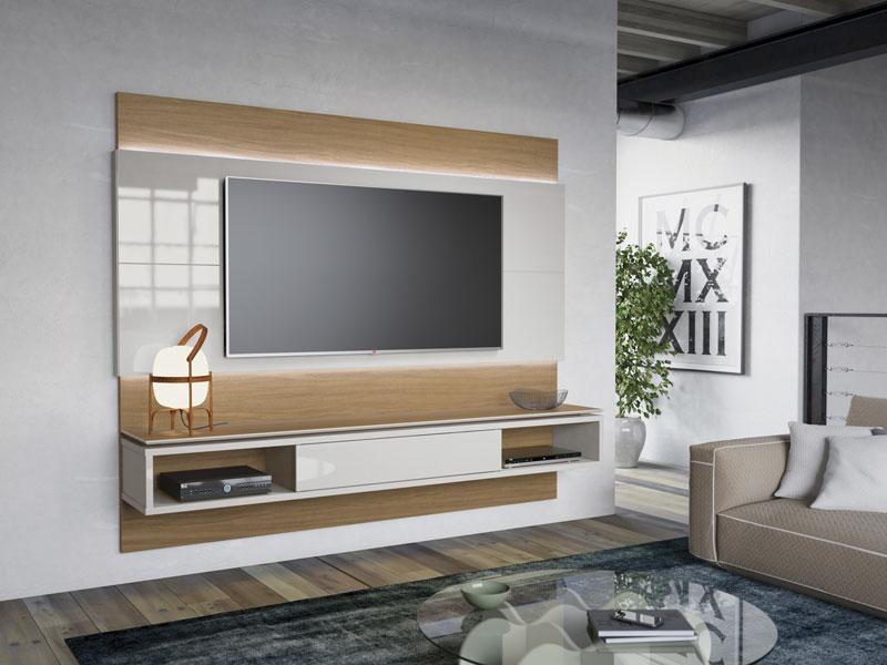 Home suspenso lincoln 2 2 natural com off white moveis for Sala de estar off white