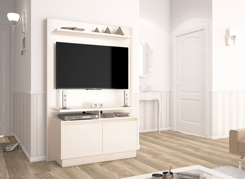 Home Theater Fit Off White - Imcal