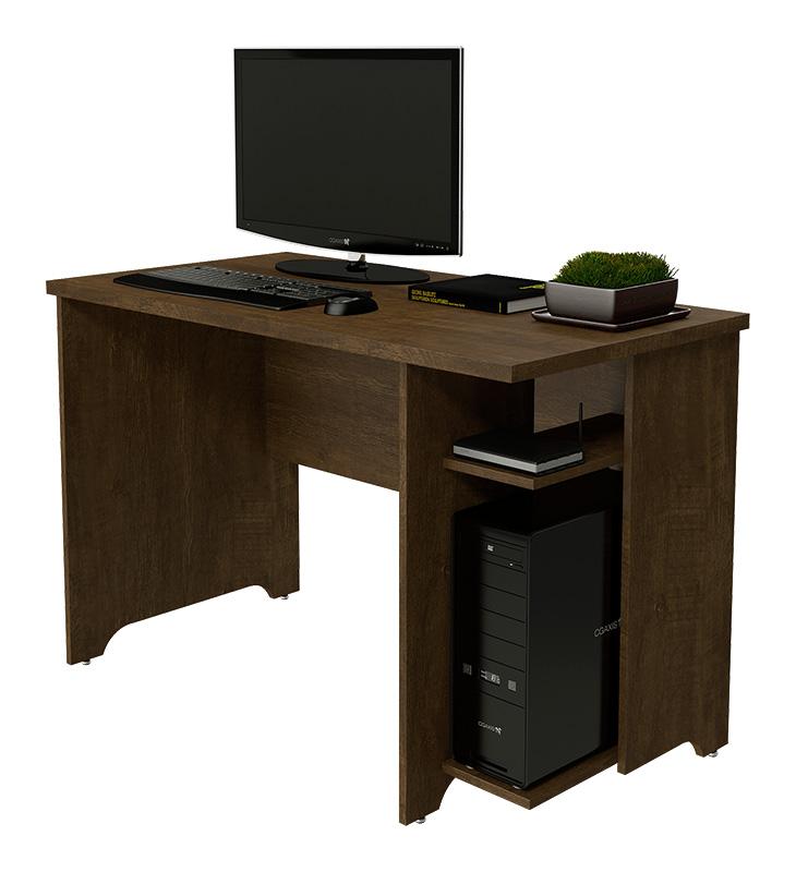 Mesa em l para escrit rio europa imbuia for Mesa escritorio l