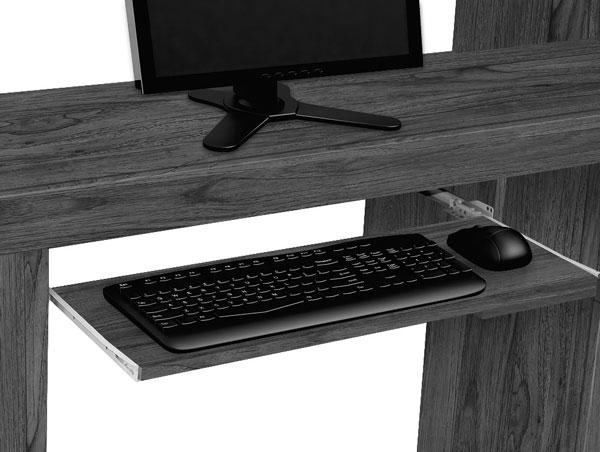 Mesa para Computador Everest Rovere Italiano - Edn Móveis