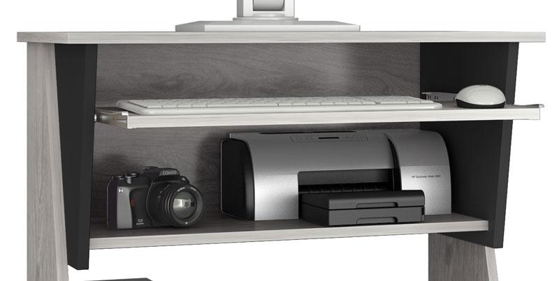 Mesa para Computador JB 6030 Griss com Preto - JB Bechara