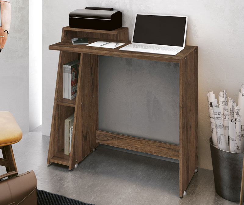 Mesa para Computador Office Zoom Rovere Italiano - Edn Moveis