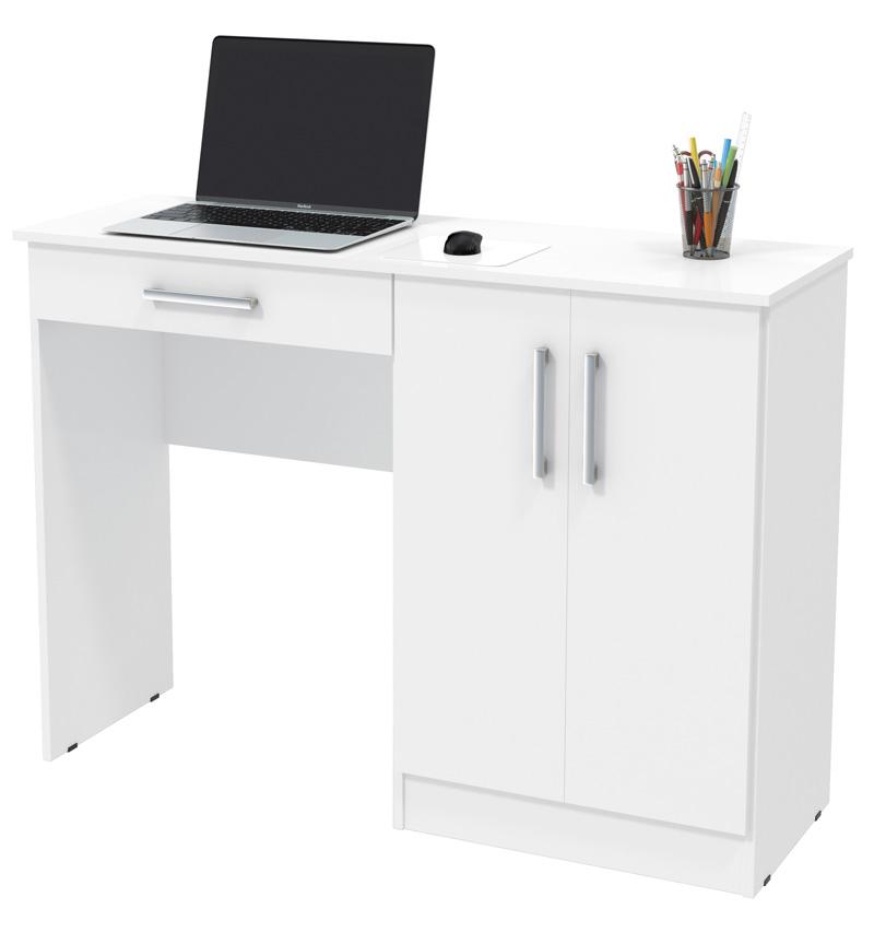 Mesa para Computador Space Branco - Patrimar Móveis