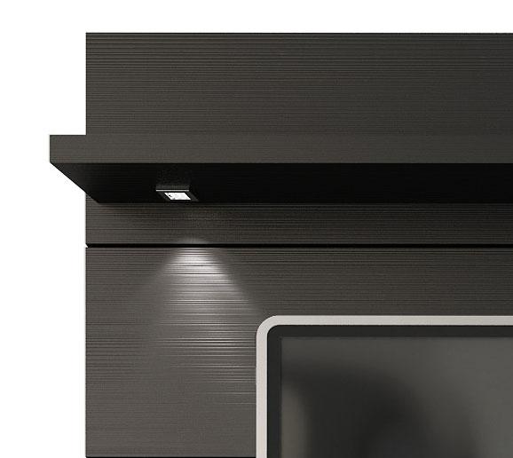 Painel para TV Horizon 1.8 Preto Touch - Móveis Província