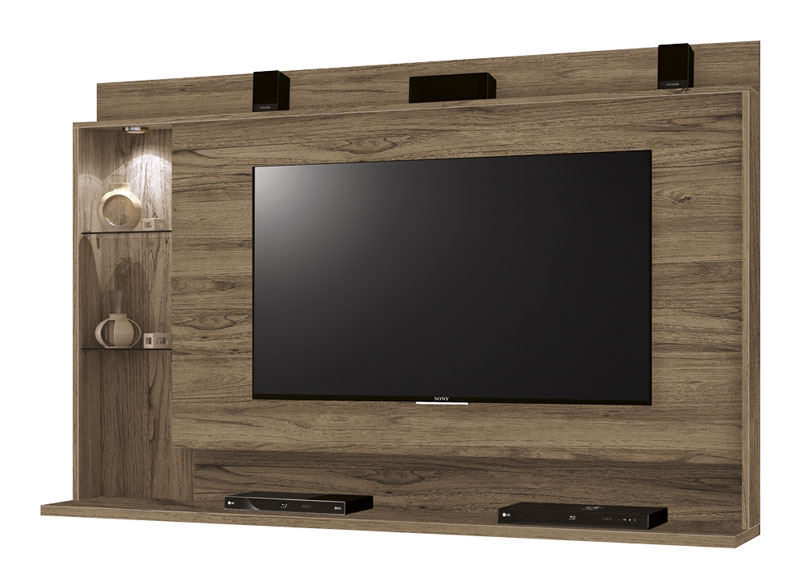 Painel para Tv Lumini Freijo - Edn Móveis