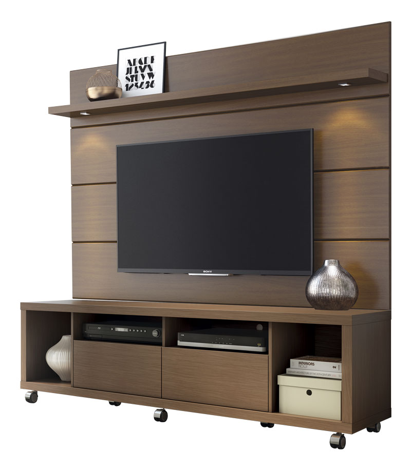 rack com painel horizon 1 8 castanho moveis provincia. Black Bedroom Furniture Sets. Home Design Ideas