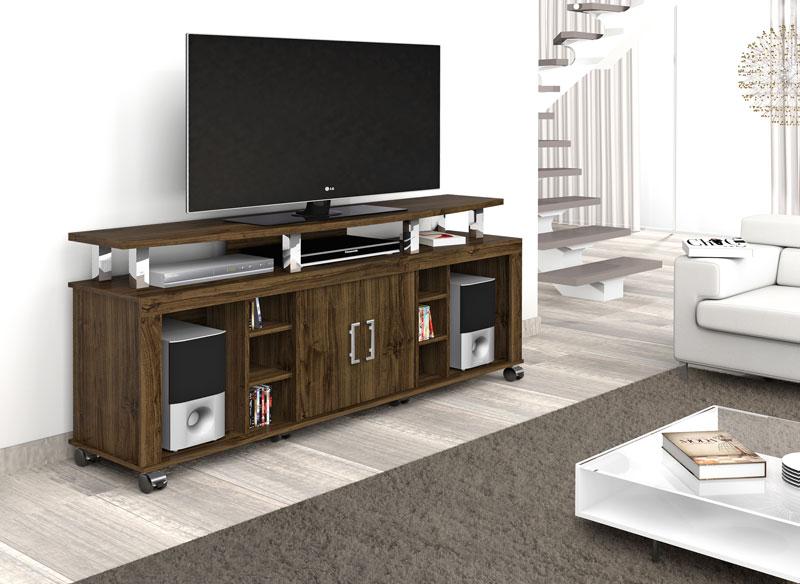Rack para Tv Mega New Imbuia - Imcal