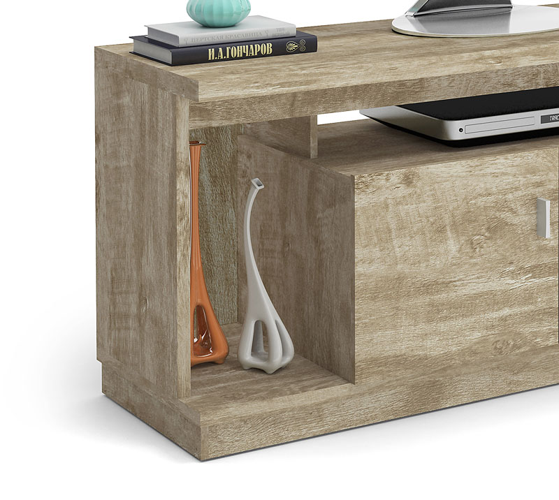 Rack Requinte New Rovere - Lukaliam Moveis