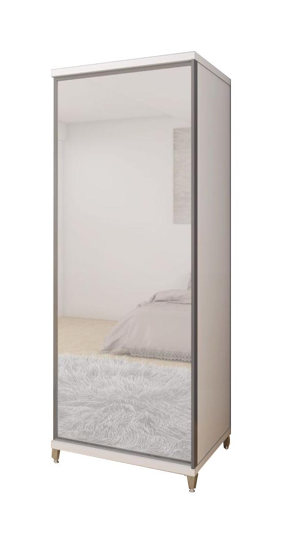 Sapateira Estilo Gelius com Espelho Branca Fosca