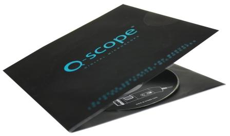 Q-scope USB 1.3mp com polarização
