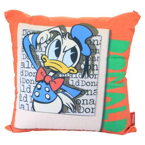 Almofada Fibra Veludo - Pato Donald